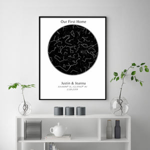 Custom Star Map Prints