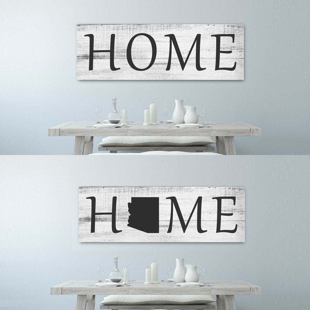 Big Home Canvas - A Beautiful Home Decor Canvas - Canvas Vows