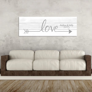 love quote canvases
