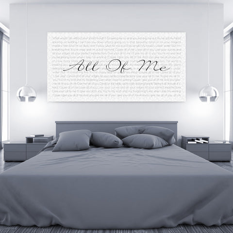 Custom Sheet Music Art - Silver Tone
