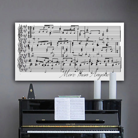 First Dance Song With Sheet Music And Picture