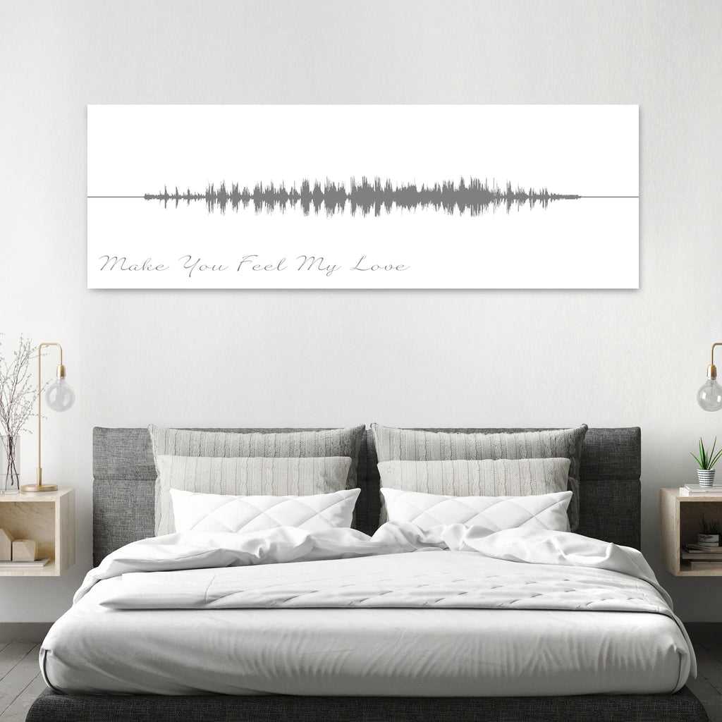 Song Sound Wave Art - Canvas Vows