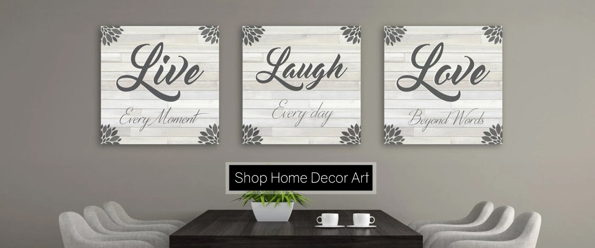 Live Laugh Love Wall Art