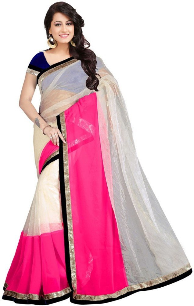 designer-triple-colour-saree