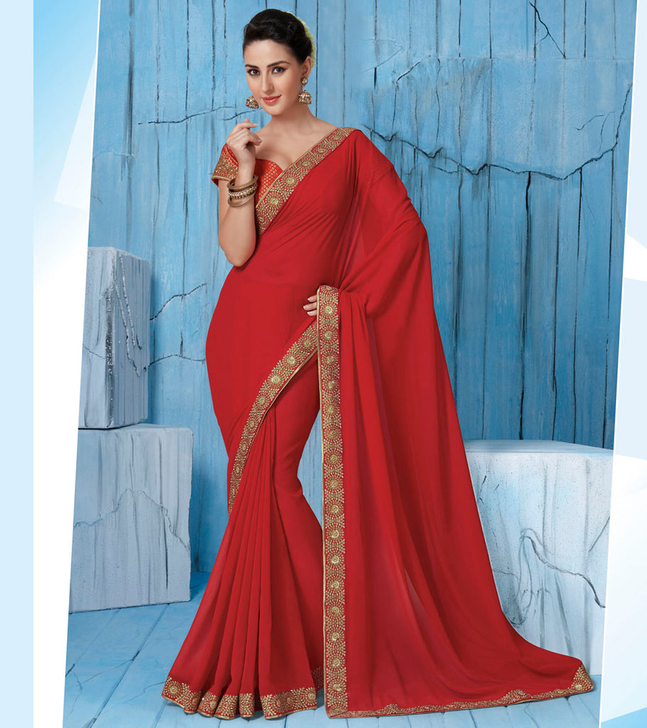 northern-style-saree