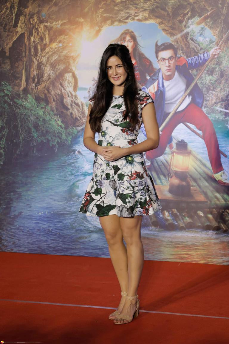 Katrina Kaif Looked Ravishing in Erdem's Floral Printed Dress