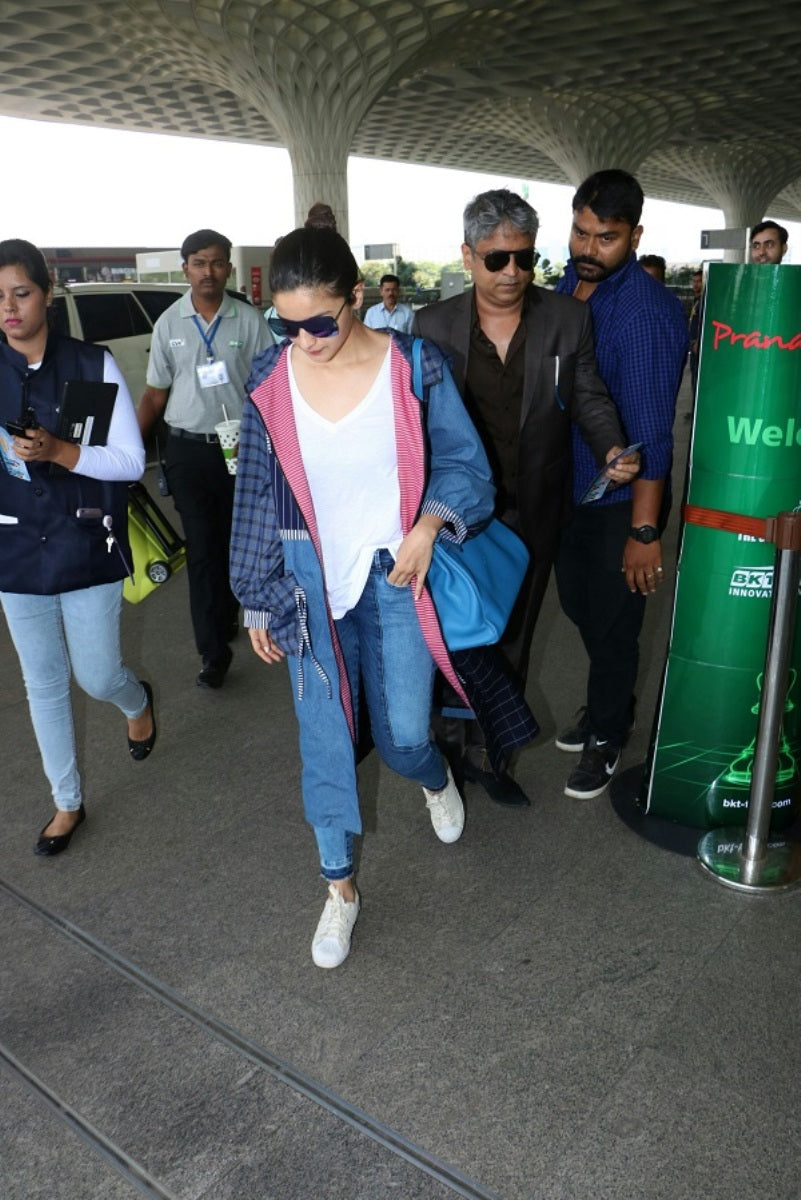 Alia Bhatt Carried A Cool & Smart Airport Fashion Look