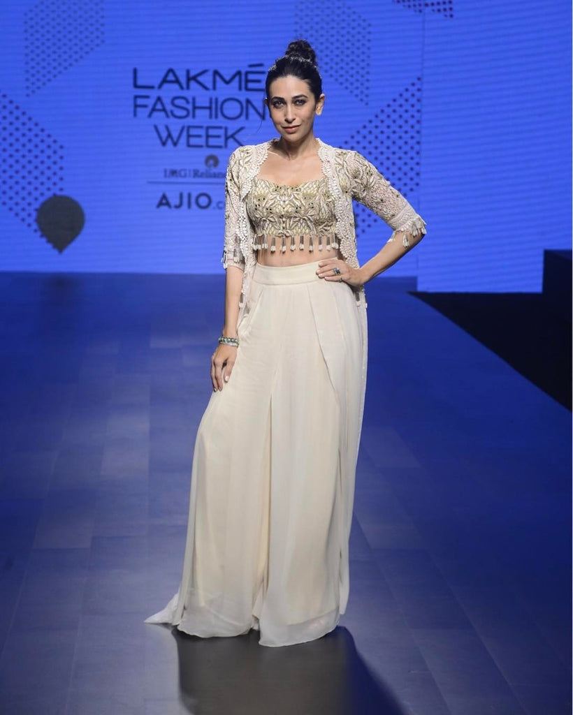 Lakme Fashion Week Summer 2017 Karisma Kapoor Steal The Show In Bohos Lady India