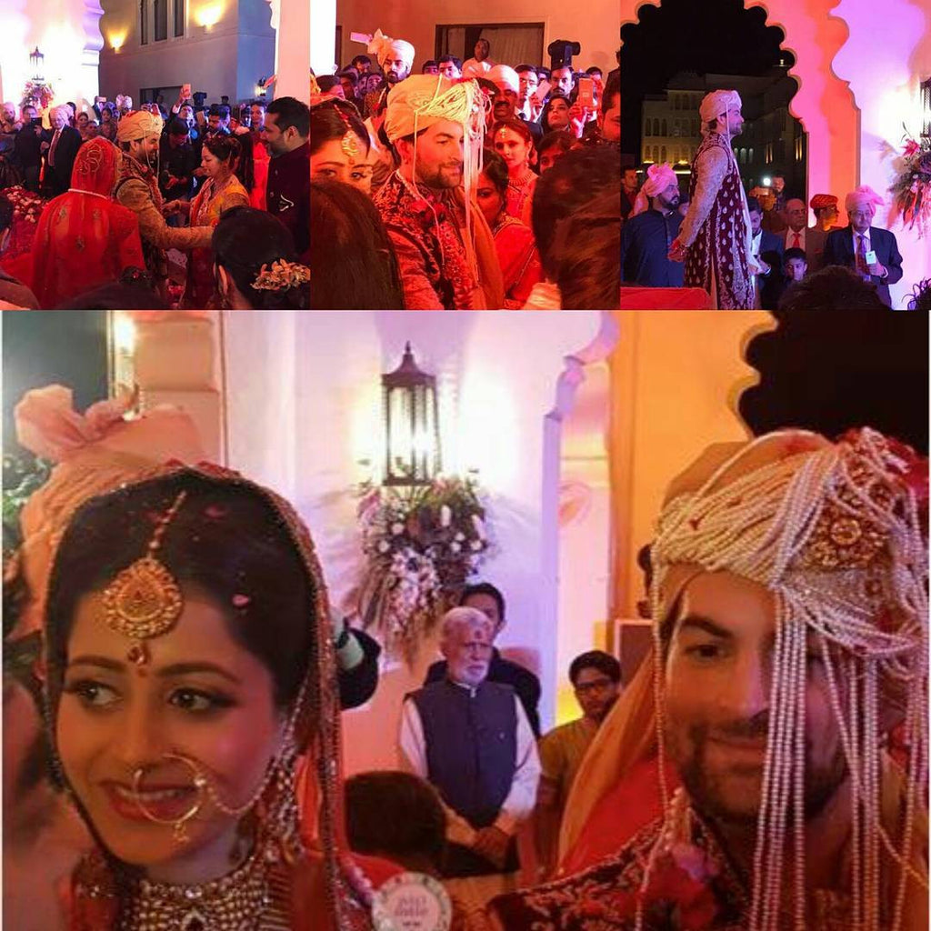 Neil Nitin Mukesh And Rukmini Sahay Tie The Knot in Grand Wedding Ceremony