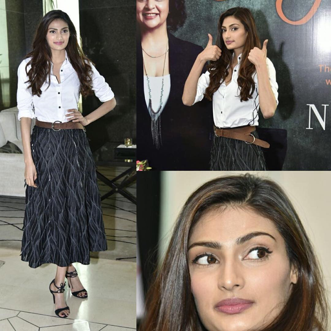 Athiya Shetty in 431-88 by Shweta Kapur
