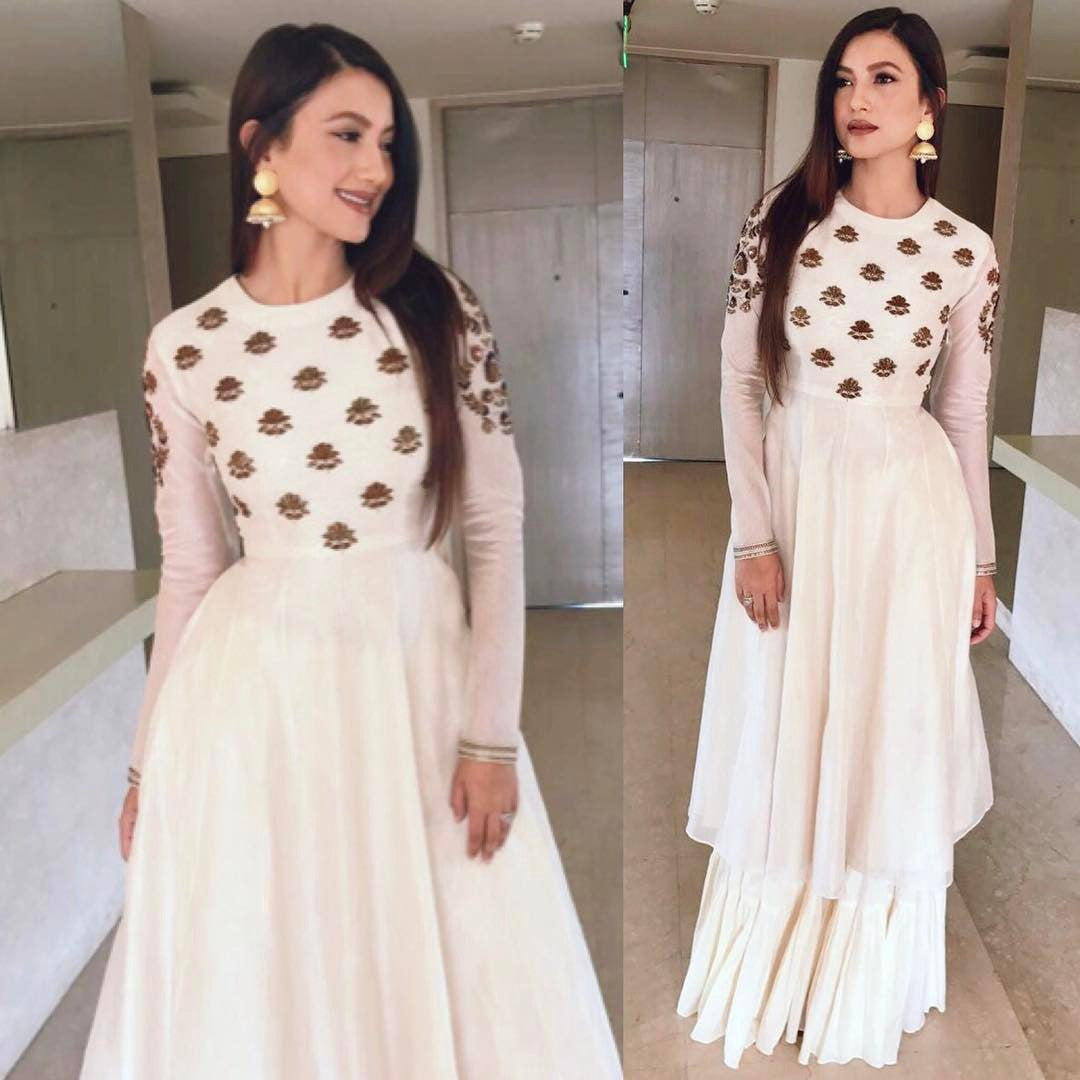 Gauahar Khan Looked stylish in Radhika Airi Collection