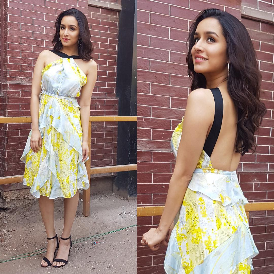 Shraddha Kapoor Looked Fashionable In H&M