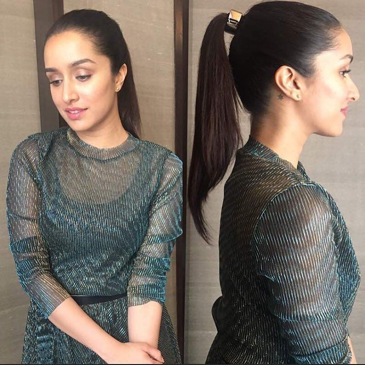 Shraddha Kapoor Looking Gorgeous in madison_onpeddar outfit and @paulandrew shoes