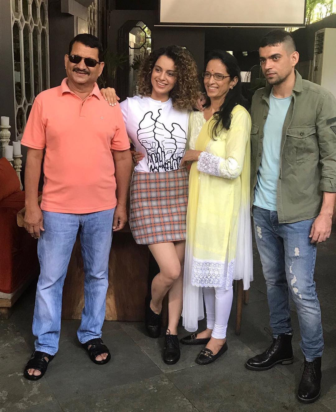 Kangana Ranaut Looked Like A School Girl In Stella Mccartney And Prada's Outfit