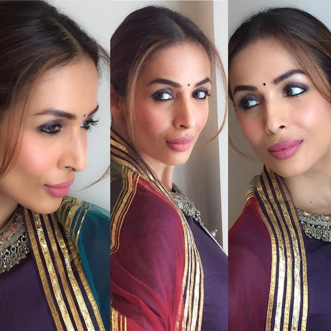 Malaika Arora looked Gorgeous in Rimple and Harpreet Narula's Designer Anarakli Suit