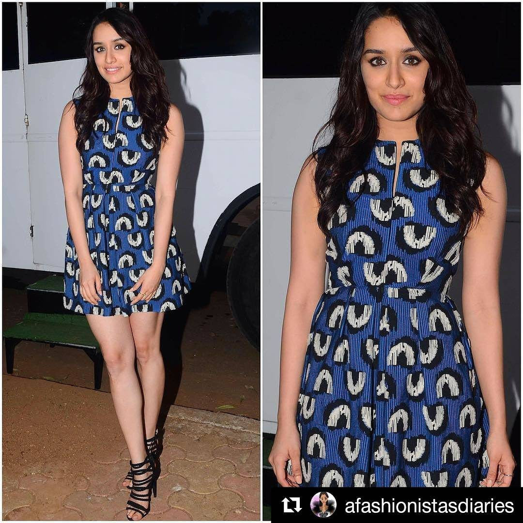 Shraddha Kapoor Looked Beautiful In Her Latest Summer Fashion Look