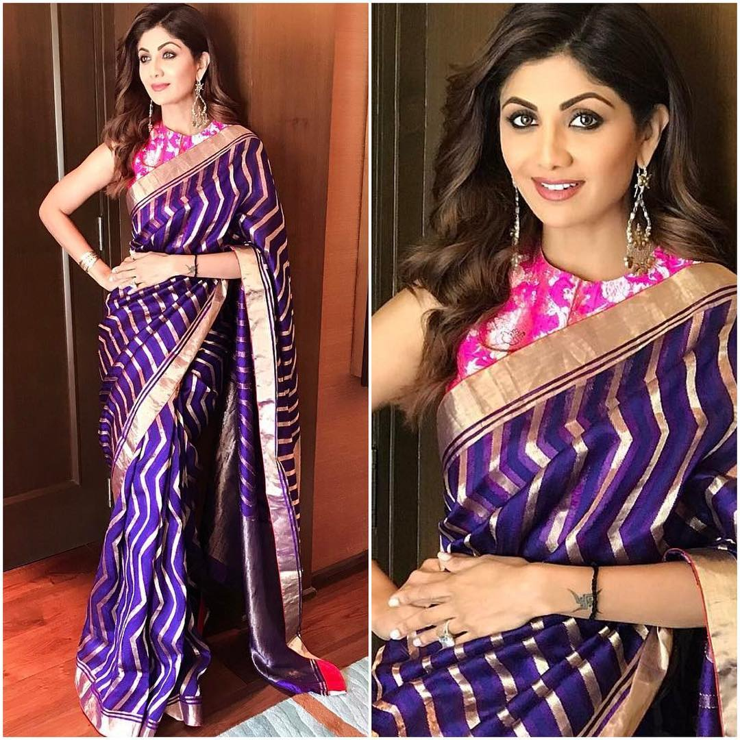 Day 9 Purple- Navratri 2017