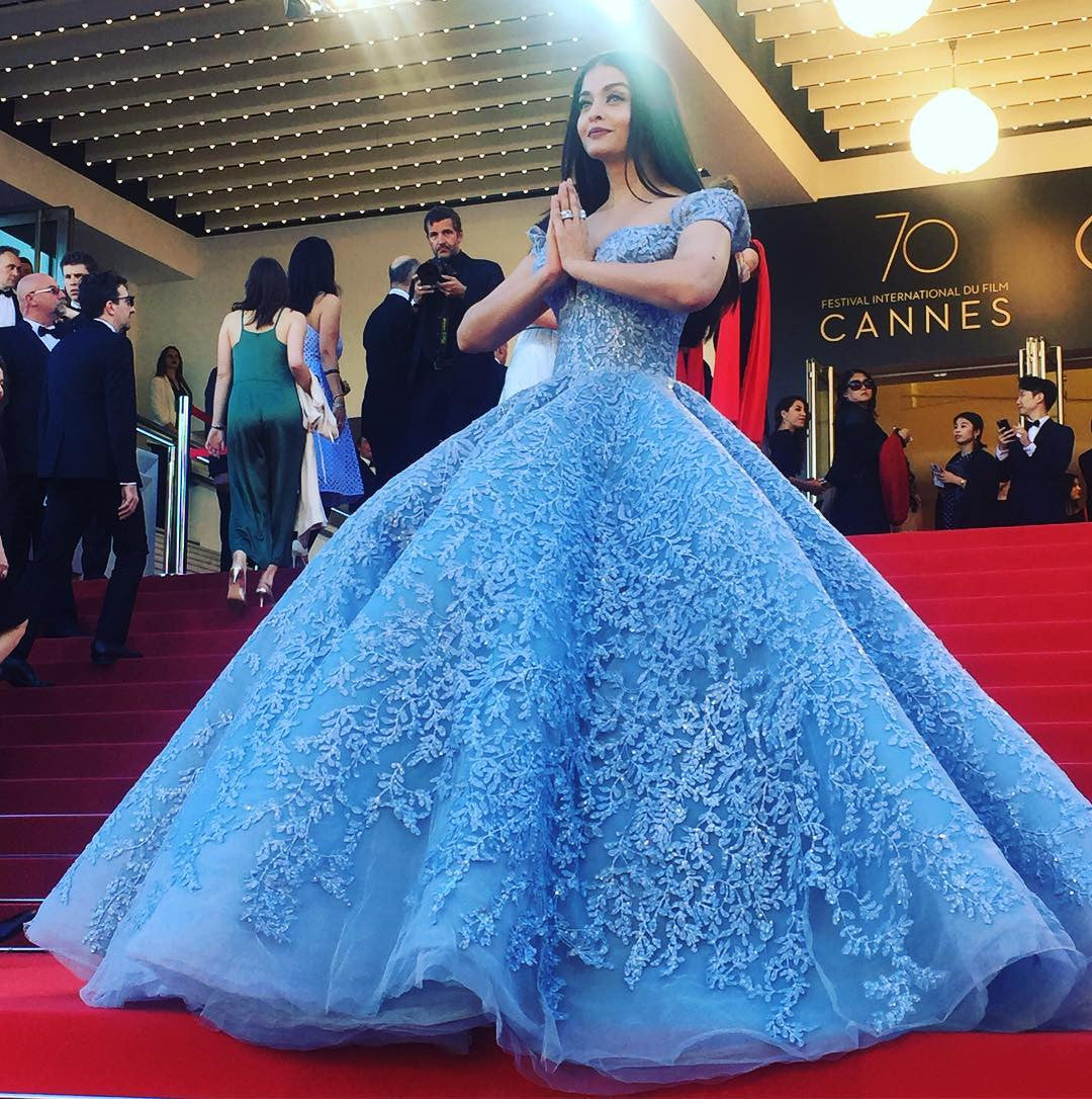 Aishwarya Rai Bachchan in Michael Cinco