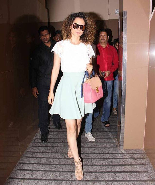Kangna Ranaut Looked Easy Breezy In Her Latest Summer Fashion Trend