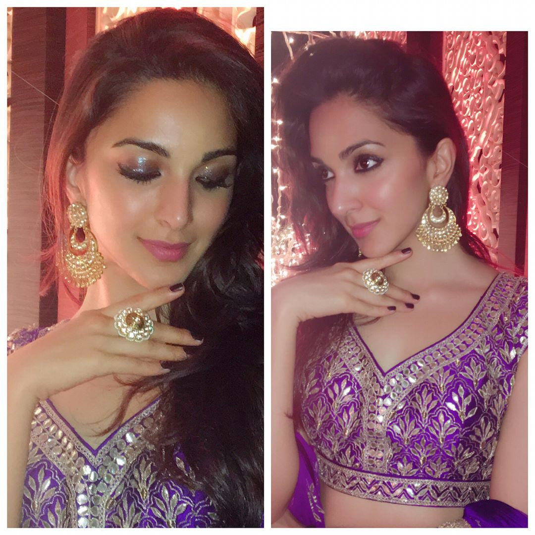 Kiara Advani Looked Stunning In Designer Lehenga By Anita Dongre