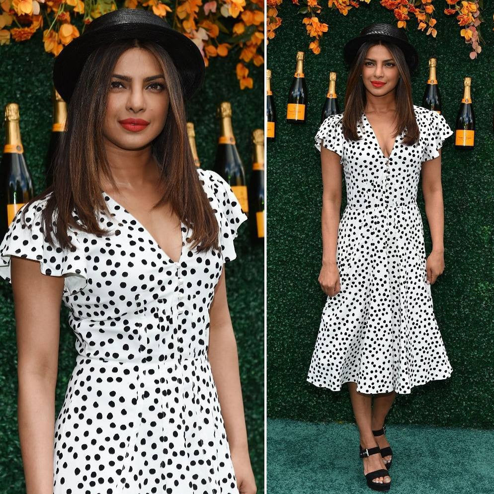Priyanka Chopra Looked Splendid In Midi Dress From Altuzarra At The Polo Event