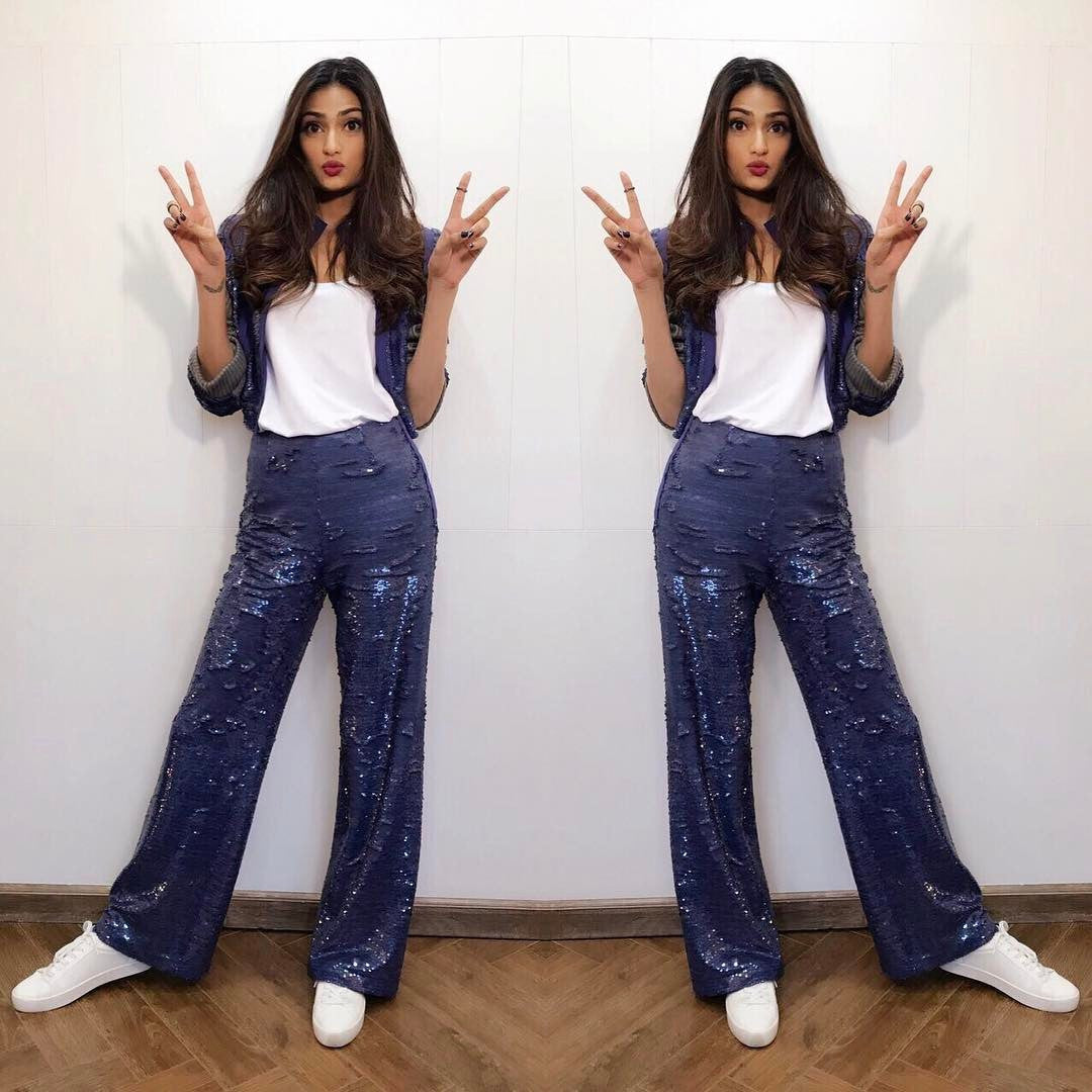 Athiya Shetty in Bian NYC At The Promotion Event Of 'Mubarakan'