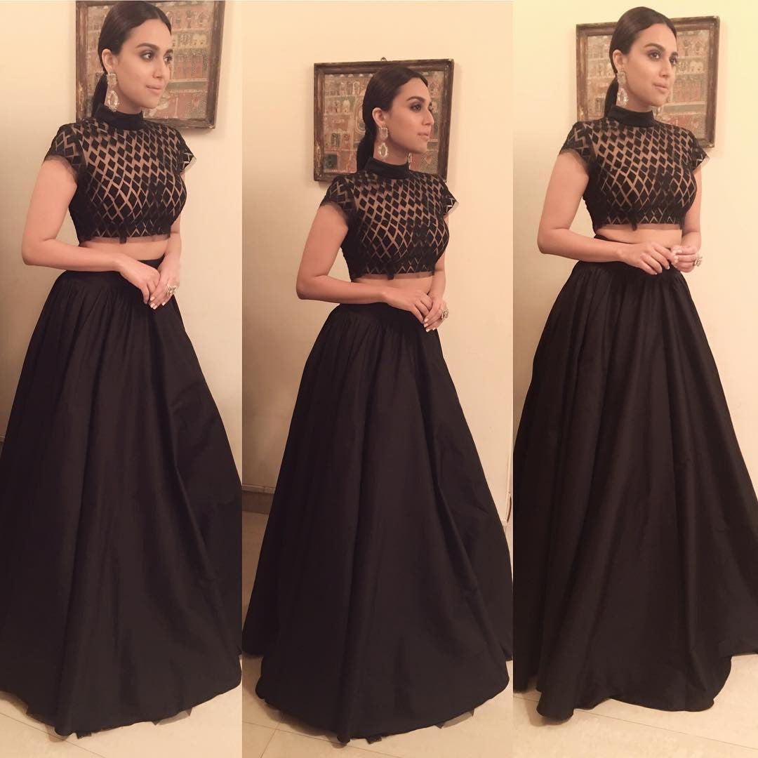 Swara Bhaskar Looked Adorable At Femina Women Awards 2017