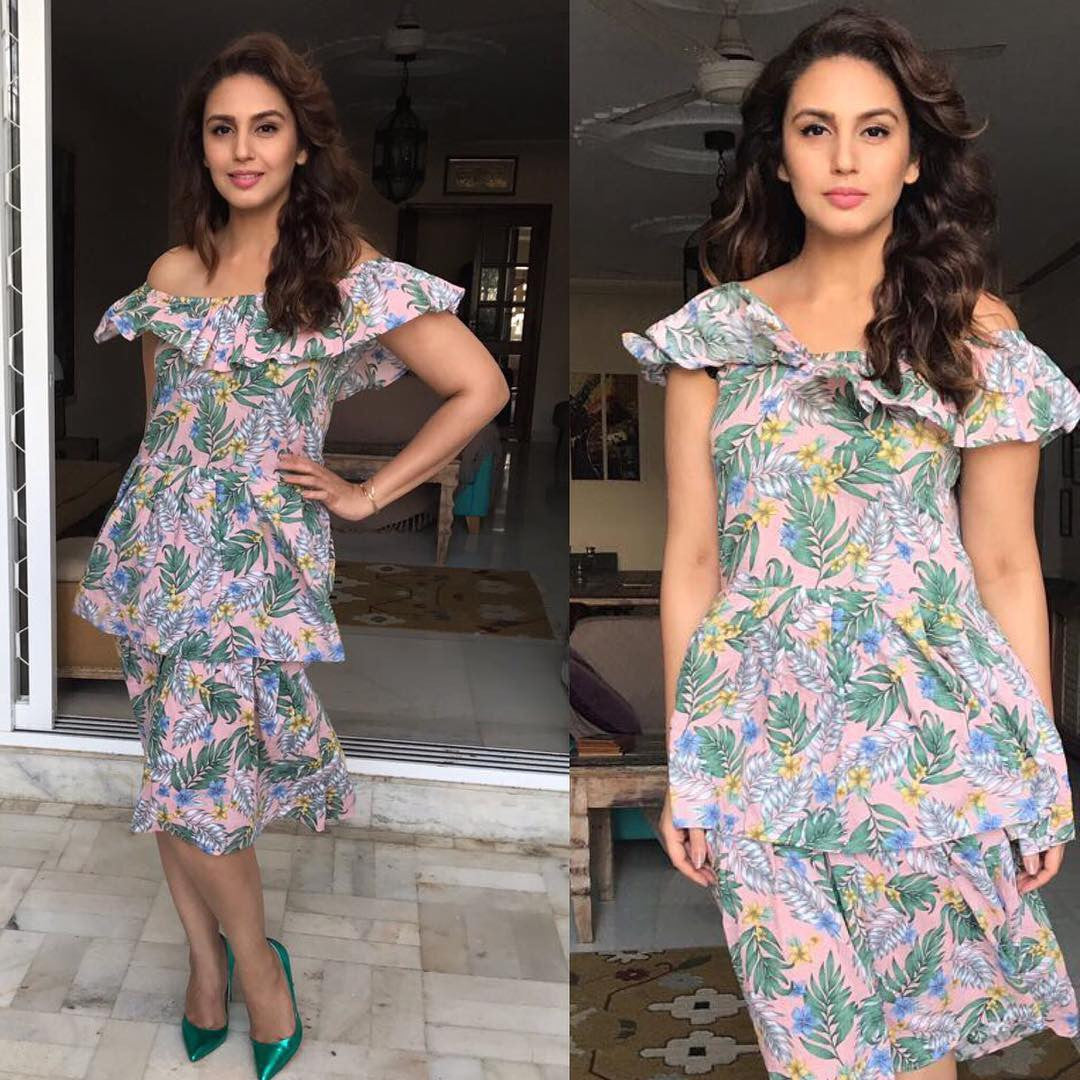 Huma Qureshi Set Major Fashion Goals During The Promotion Of Partition 1947
