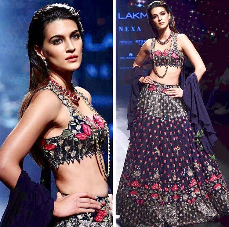 LFW 2017: Kriti Sanon Looks Like A Million Bucks In Arpita Mehta's Collection