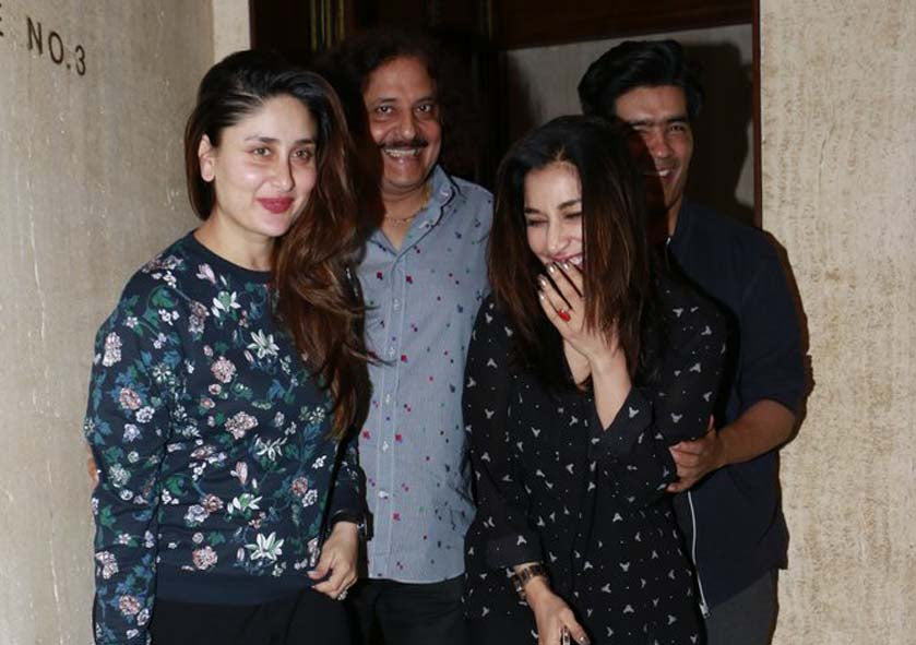 Kareena Kapoor Chills With Friends in a Manish Malhotra's Dinner Party