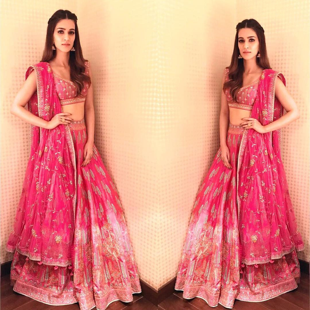 Kirti Sanon Looked Beyond Beautiful in This Anita Dongre's Sexy Lehenga