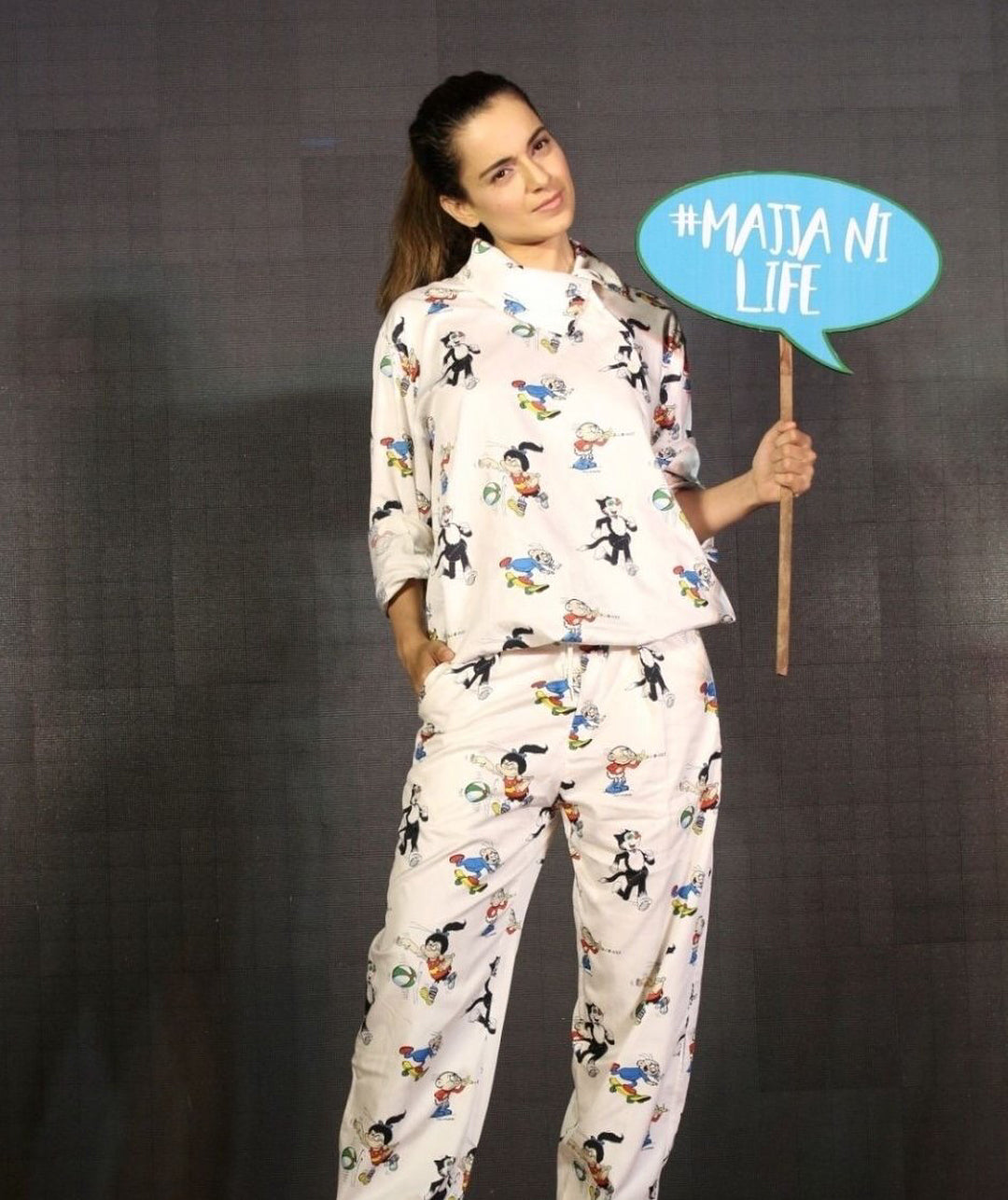 Kangana Ranaut Just Worked This Cute Stella Mccartney Dress And We're Totally Stealing It