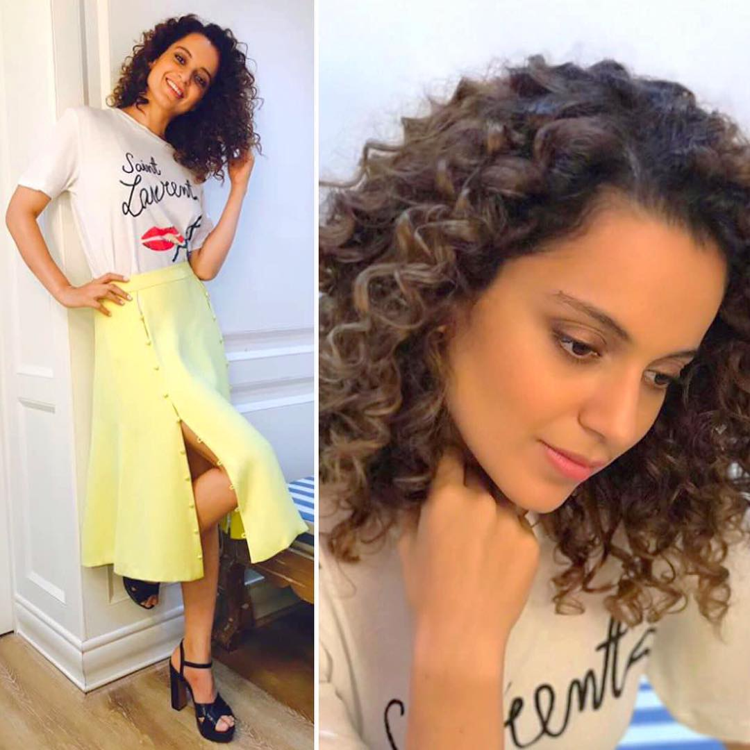 Kangana Ranaut Made Quite A Monsoon Style Statement In Prabal Gurung And YSL's Outfit