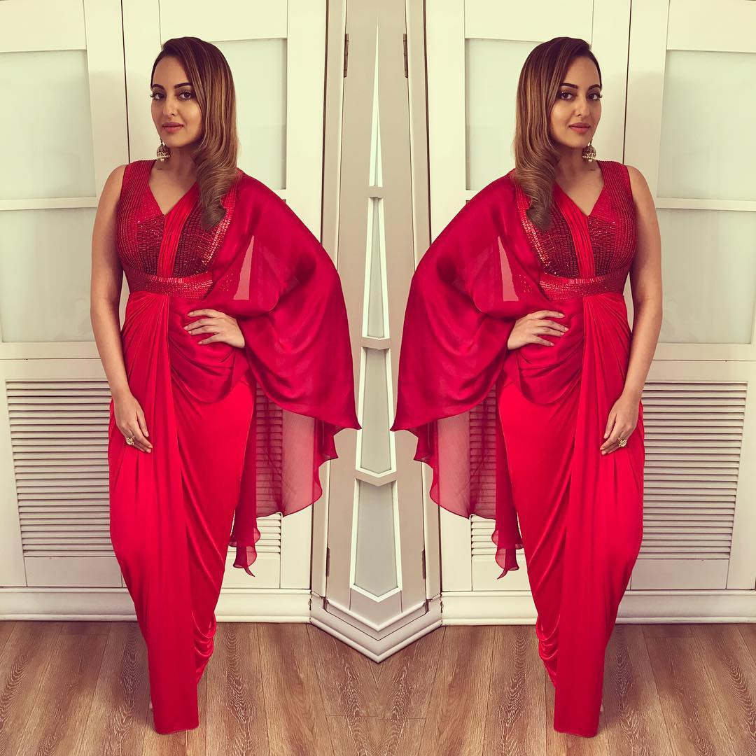 Sonakshi Sinha Gives U How To Look Gorgeous On This Festive Season