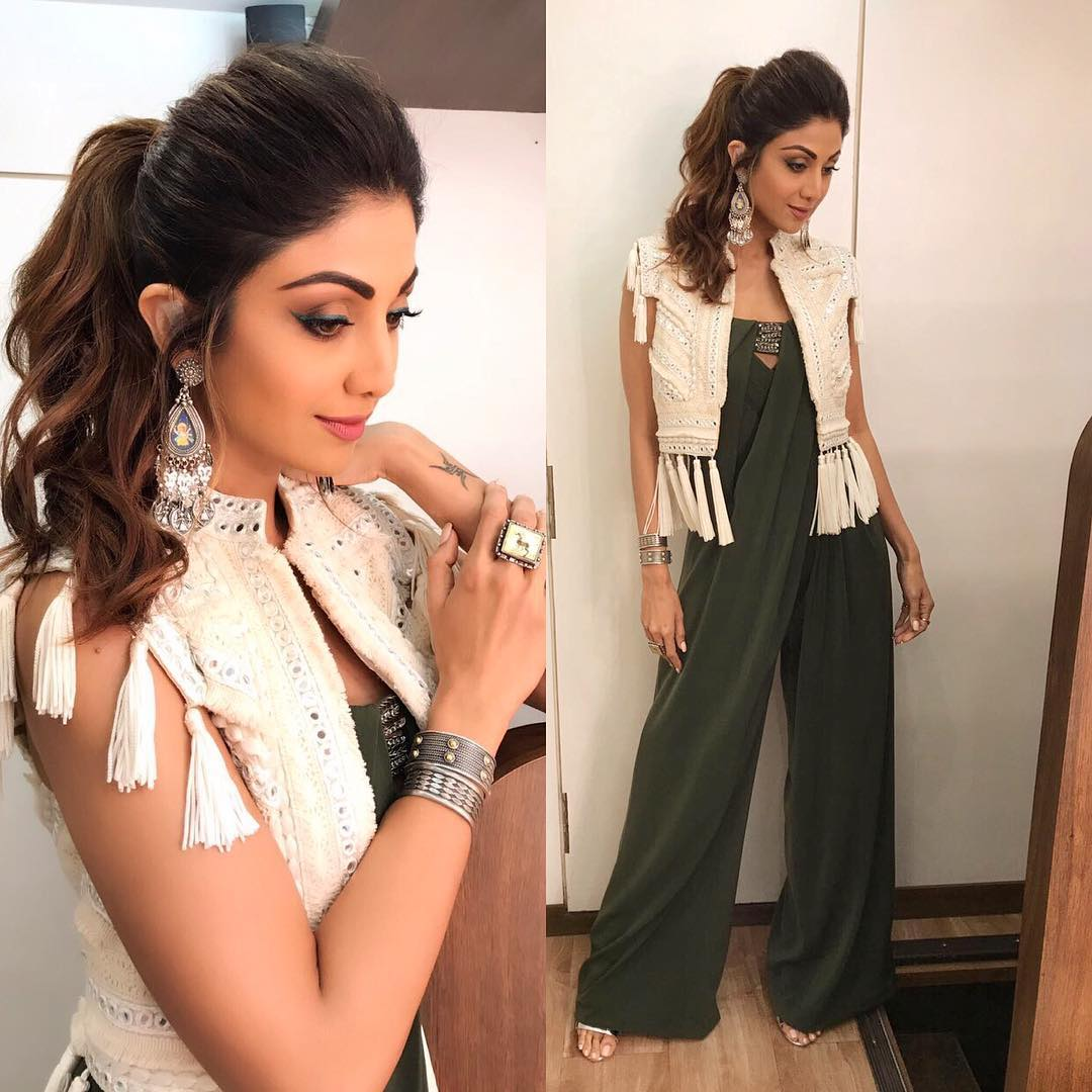 We're Loving Shilpa Shetty's Look From on the sets of 'Super Dancer 2' Like Crazy