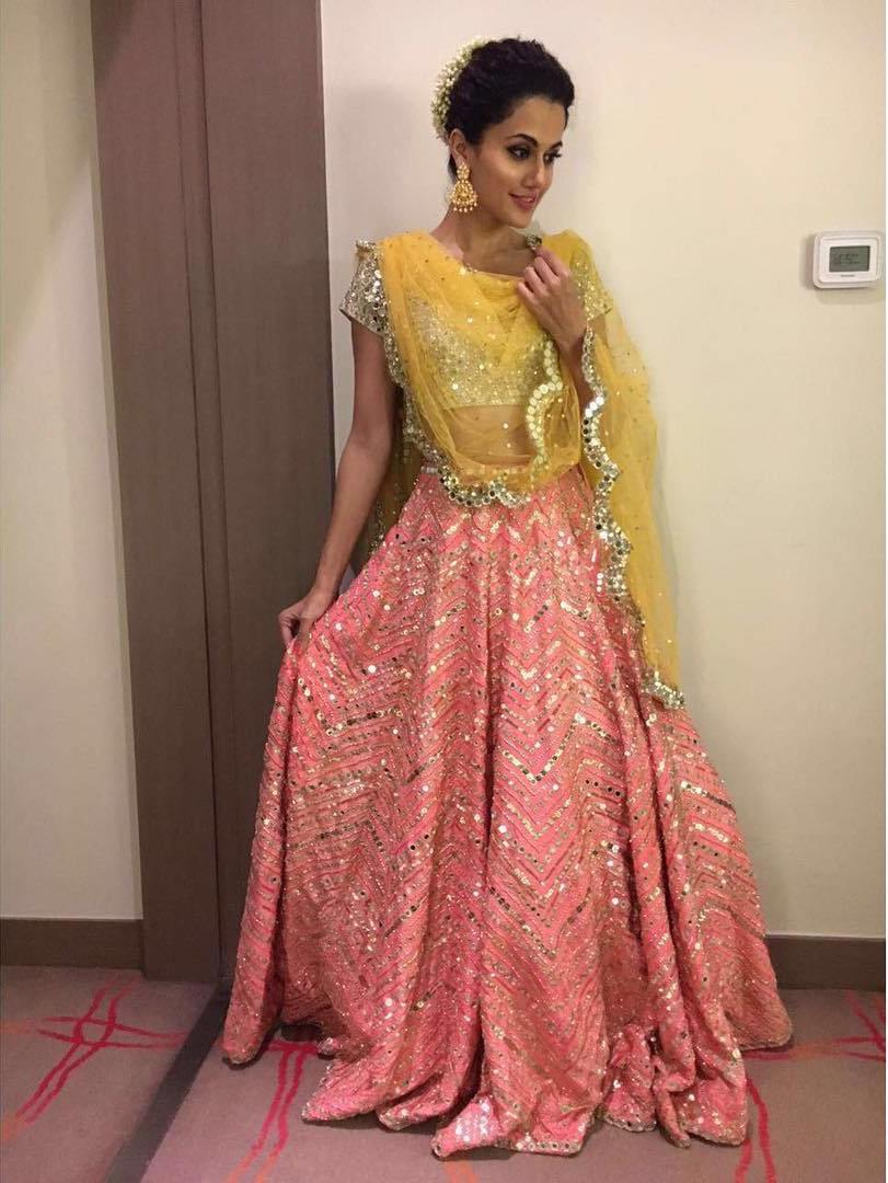 Tapsee Pannu in Her Latest Ethnic Fashion Trend