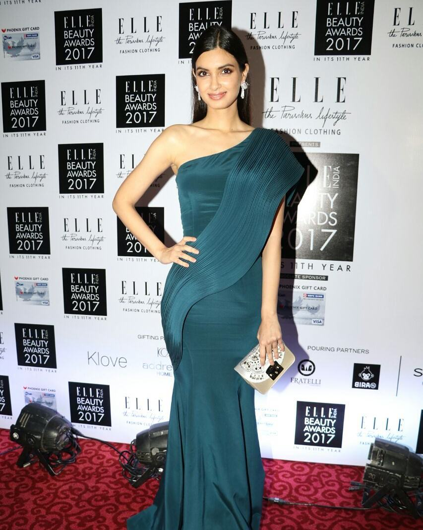 Diana Penty Looked Pretty At The Elle Beauty Awards 2017