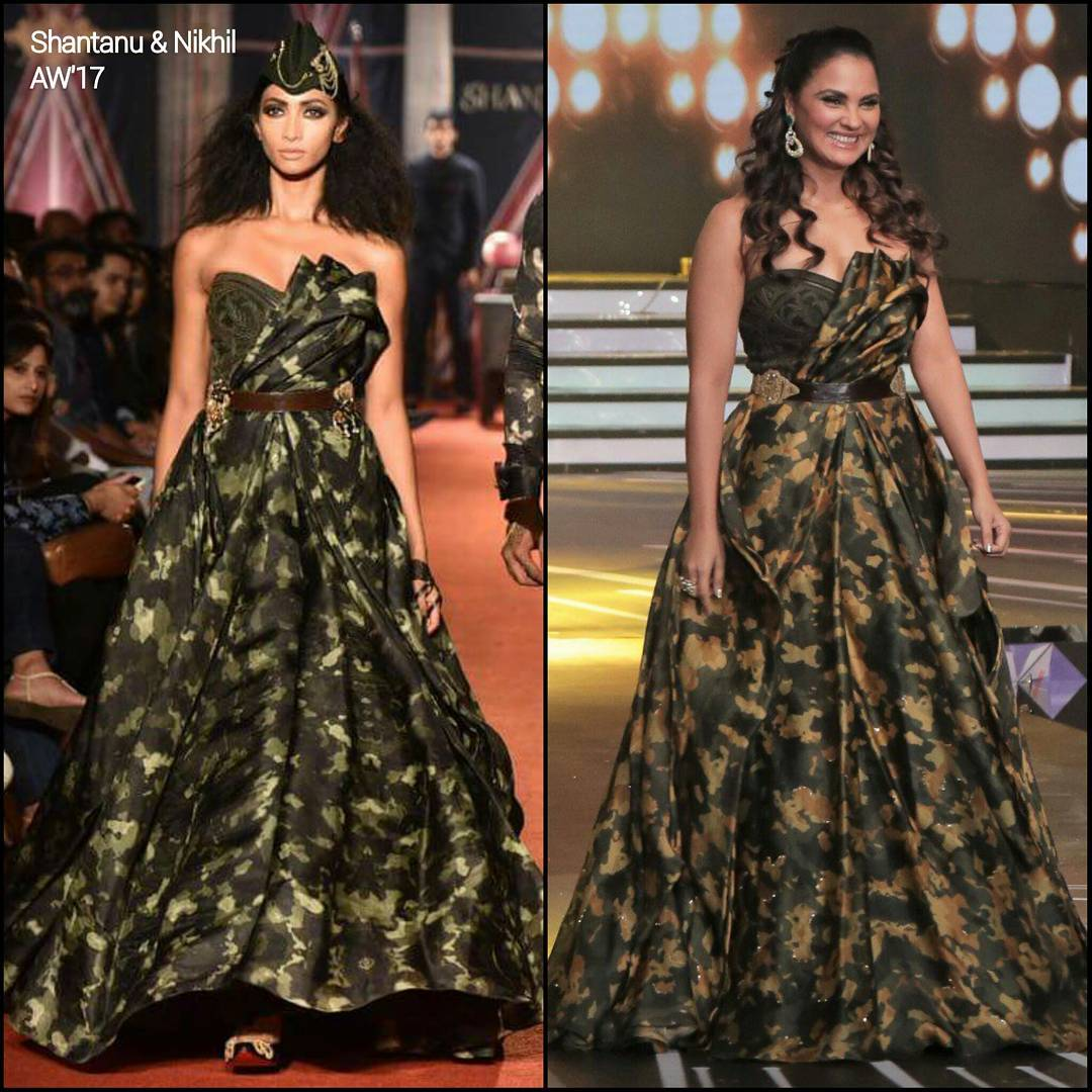 Lara Dutta Looked Stunning At The Miss Diva Pageant