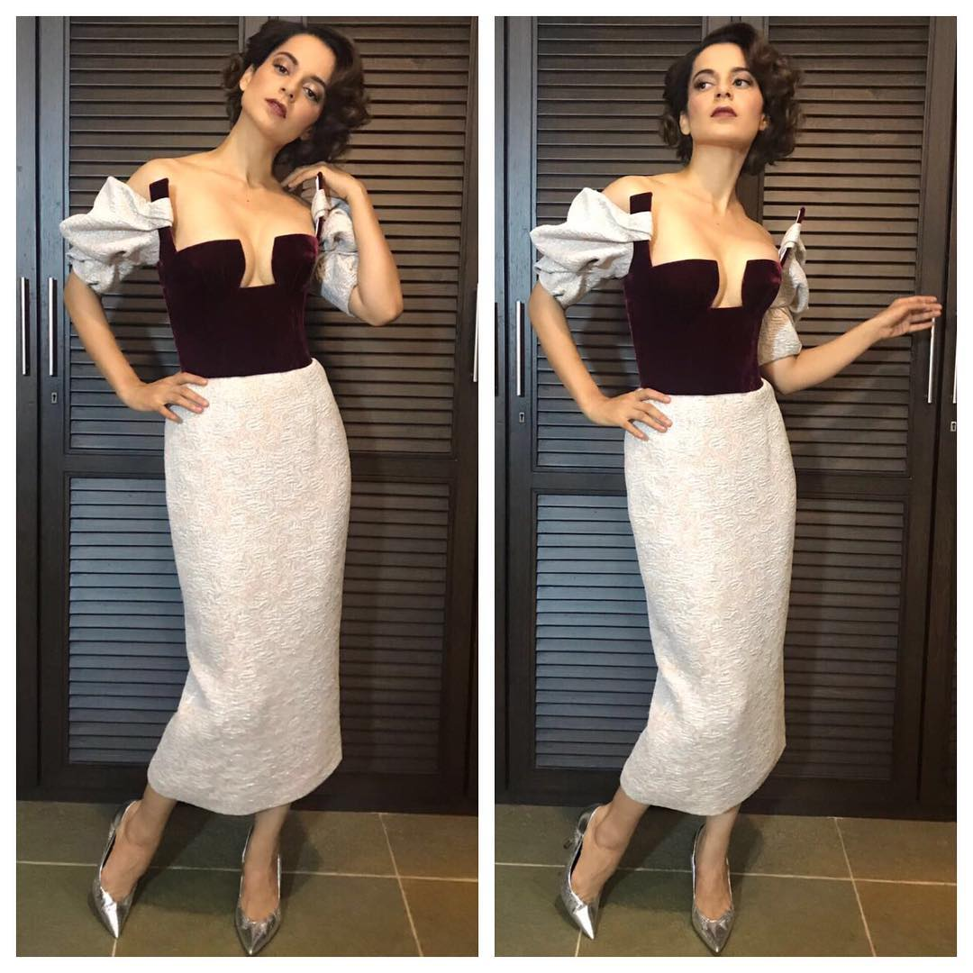 Look Of The Day: Kangana Ranaut Made A Sexy Appearance At  Jio Mami Film Festival