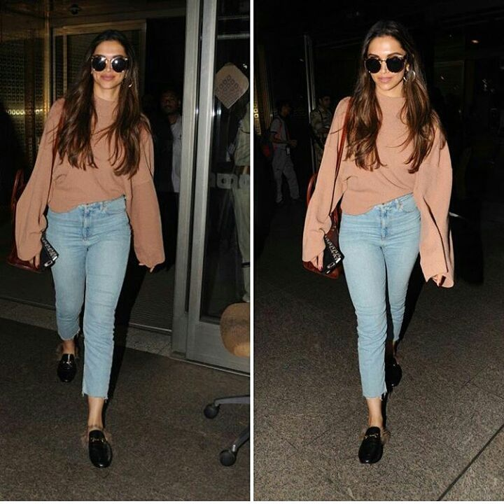Deepika Padukone Looked Comfy In Her Latest Airport Style