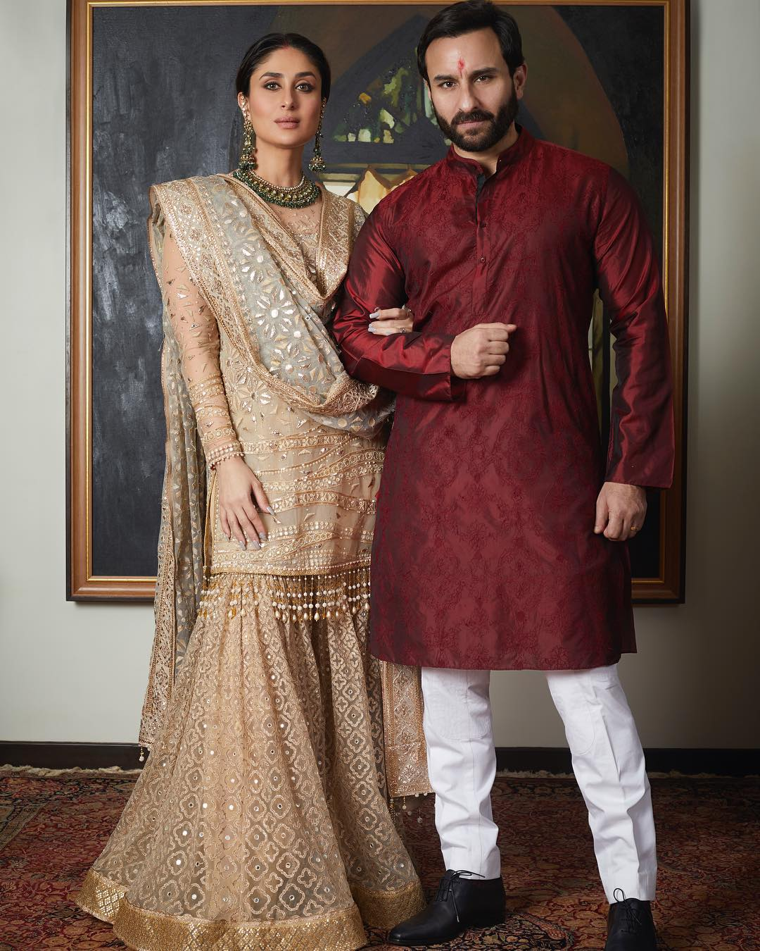 Let's Just Talk About Kareena Kapoor's Regal Look In Tarun Tahiliani's Sharara