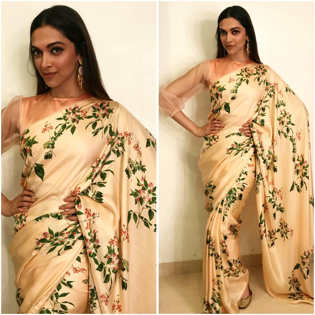 "Deepika Padukone Killed Everyone With Her Traditional Avatar At The Promotion Of ""Padmavati"""
