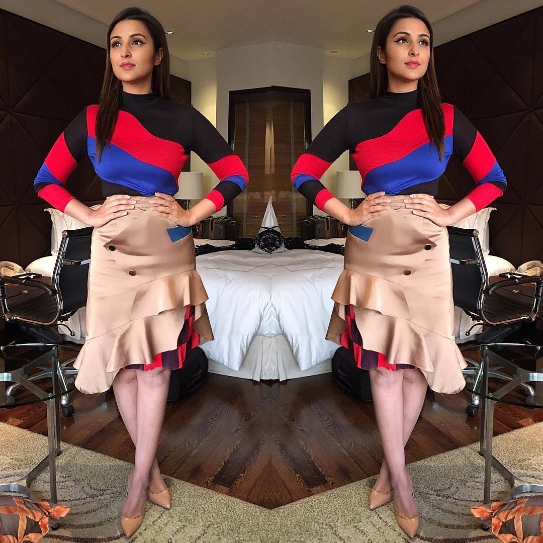 We Are Absolutely Loving Parineeti Chopra's This Colorful Dress Look