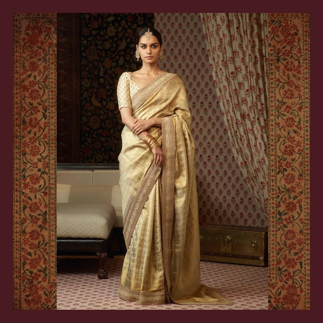 The newly crowned Miss World Manushi Chhillar looks breathtaking in Sabyasachi