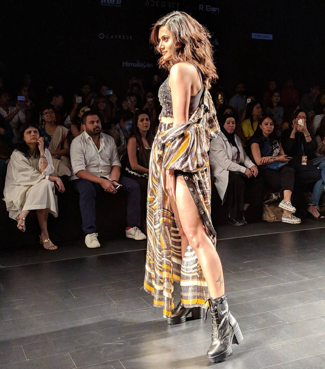 Lakme Fashion Week 2018 - Taapsee Pannu walks the ramp for Label Ritu Kumar