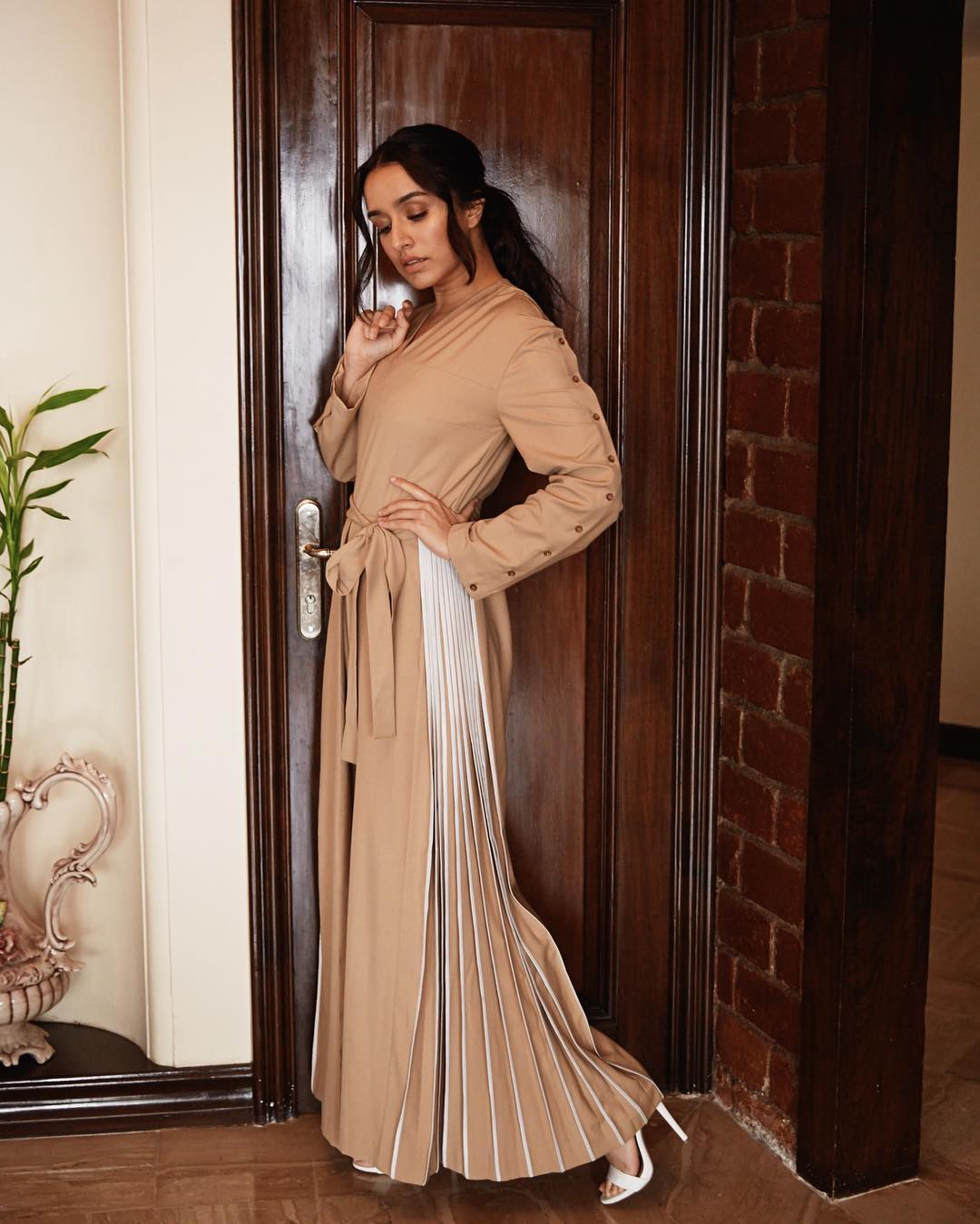 Shraddha Kapoor in Bodice's Maxi Dress