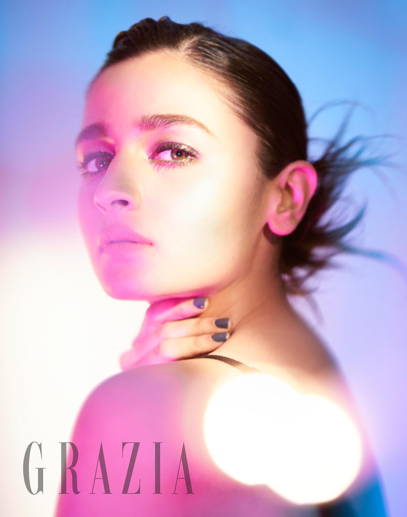 Alia Bhatt Graced the Cover of Fashion Magazine Grazia