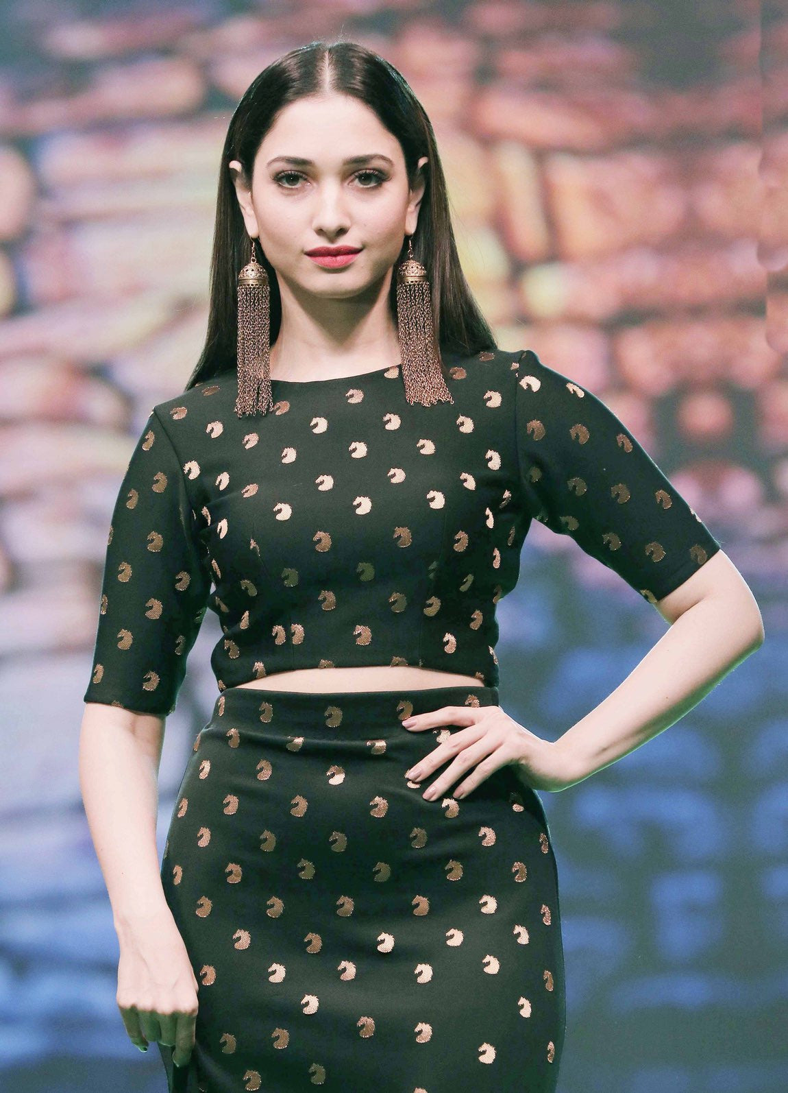 Tamannaah Bhatia walked on ramp