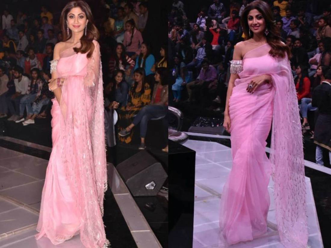 Acing Indian Wear In Soft Tones, Shilpa Shetty Looked Absolutely Surreal...