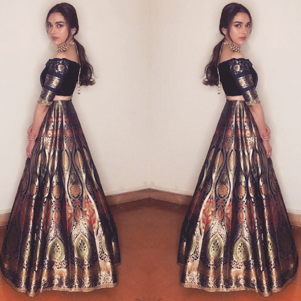 Aditi Rao Hydari's Western look is Amazing in Manish Malhotra's Creation